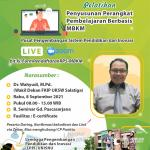 Pelatihan Penyusunan Perangkat Pembelajaran Berbasis MBKM