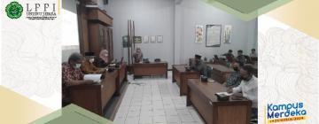 LPPI Adakan Rapat Koordinasi Kurikulum Berbasis MBKM